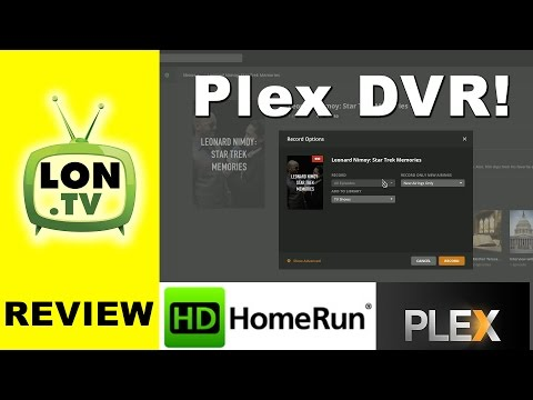 Plex DVR First Look Review! Record live television using an HDHomerun - Great for cord cutters