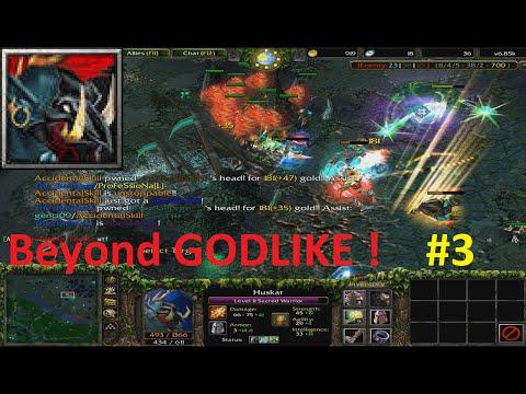 DotA 6.85k - Huskar Beyond GODLIKE !