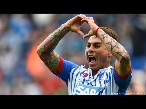 Eduardo Vargas in an exclusive interview with DW Kick off!