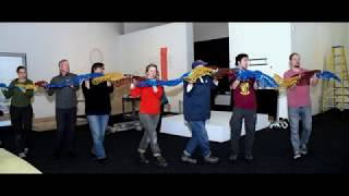 Viper installation Bellevue Arts Museum 2018