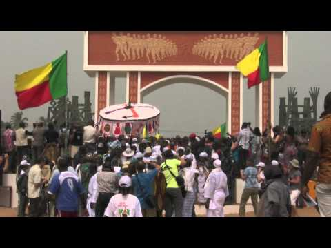 Voodoo Festival in Ouidah - Benin 2011 with the Maison de la Joie a Ouidah