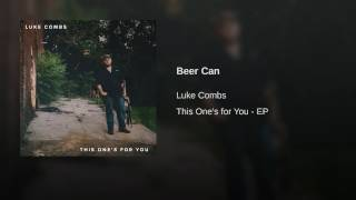 Luke Combs Beer Can
