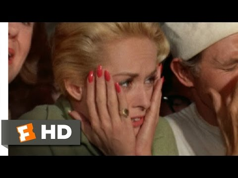 The Birds (7/11) Movie CLIP - Gas Station Explosion (1963) HD