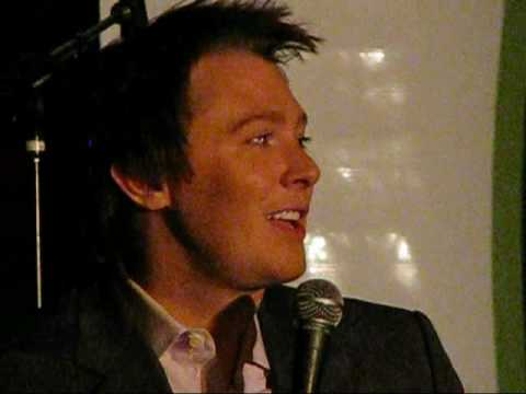 Clay Aiken Right Here Waiting - TBAF Gala 10-18-08