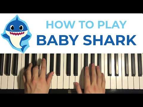 HOW TO PLAY - BABY SHARK - by Pinkfong Piano Tutor MP3...