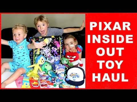 Pixar Inside Out Toy Haul