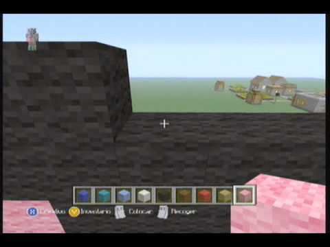 Minecraft Xbox 360 | Tutorial Pixel Art#6 Mario Bros!