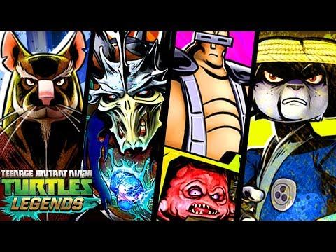 Черепашки-Ниндзя: Легенды  - СОСТАВЫ ПОДПИСЧИКОВ (TMNT Legends UPDATE X)