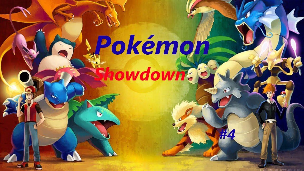 Let S Play Pokemon Showdown 4 Nu Choice Band Letarking Power Youtube
