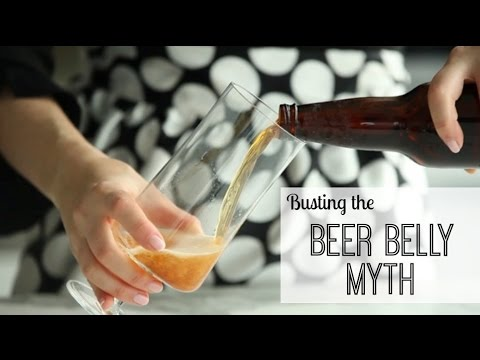 Busting the Beer Belly Myth - Drink Beer and Lose Weight