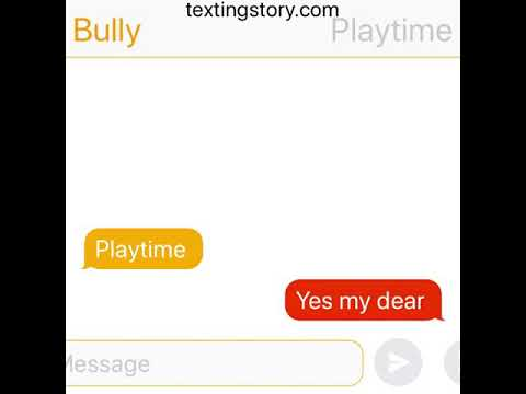 This is a bully x playtime
