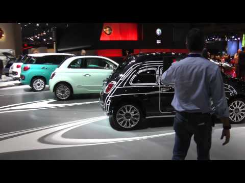 Fiat 500 wrap | salone i Parigi 2014. HDmotori.it