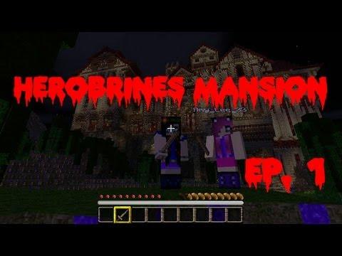 Herobrine's Mansion Ep, 1 - Rescuing Victor