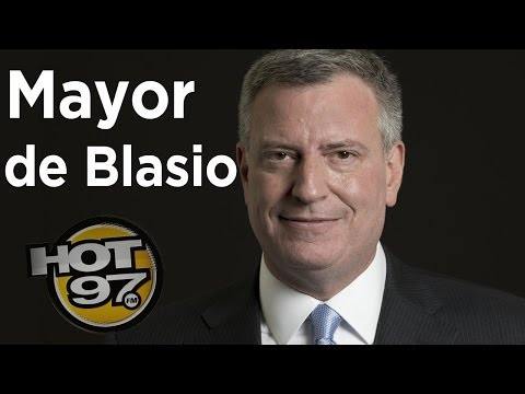 Mayor de Blasio talks Charter School, crime going down, and the Tonight show