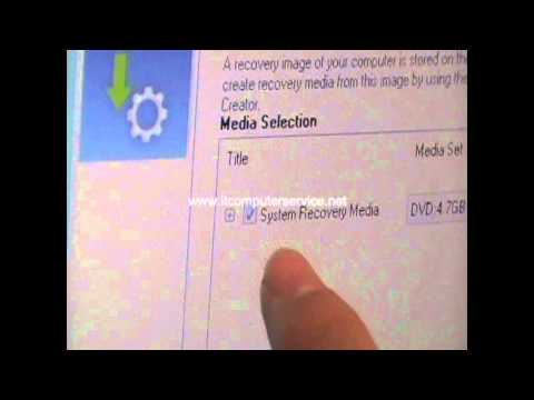 how to create windows reovery