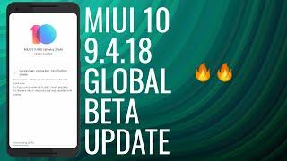 MIUI 10 9.4.18 BETA UPDATE || REDMI NOTE 4, REDMI NOTE 5 PRO, REDMI 4A - HINDI