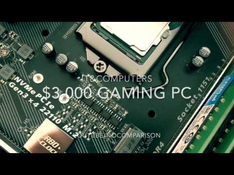 $3,000 Custom Gaming Computer Build, IT&Computers, GTX 1080,intel i7 7700k, 32gb Ram, Corsair H100i