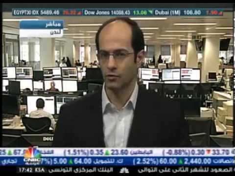 أشرف العايدي على سي ان بي سي العربية --  28 فبراير2013 Chart