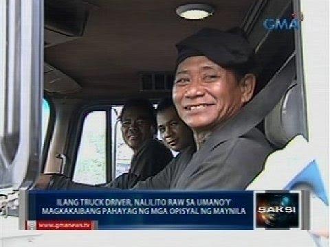 Saksi: Ilang truck, bumiyahe na matapos magwelga laban sa Manila Truck Ban