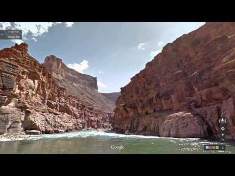 Visite virtuelle du Grand Canyon sur Google Street View (Vidéo)