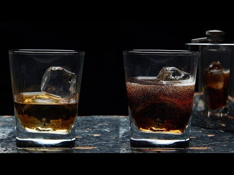 Working with Fake Ice Cubes - Food Photography