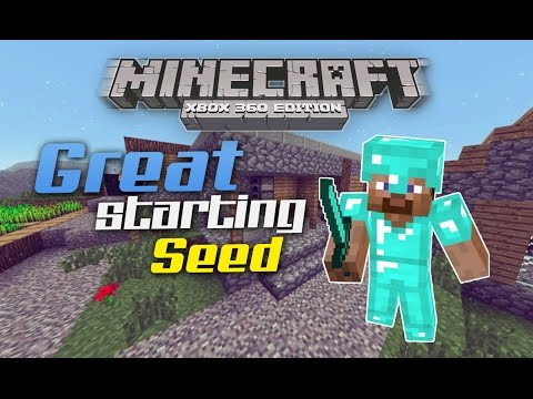 Minecraft Xbox 360/PS3 - SeedSpotlight #11 - 2 Desert Temples + 3 Villages & Diamonds ! (TU17 Seeds)