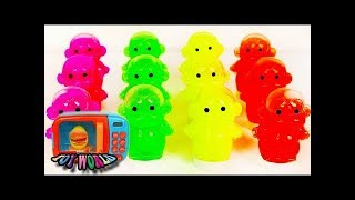 [Learn] Fix Poli and TOBOT car toys and Surprise eggs Kinder Joy toys and Color Learning