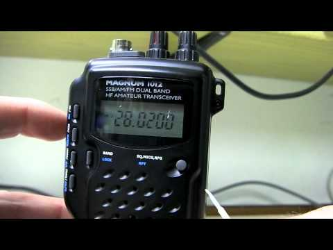 Magnum 1012 Hand Held Ham Radio 10 - 12 meter operation