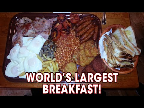 Food Challenge - World's LARGEST Breakfast Challenge!!