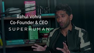 E867: Rahul Vohra's Superhuman: fastest email ever, customers pay & evangelize, 70k waitlist