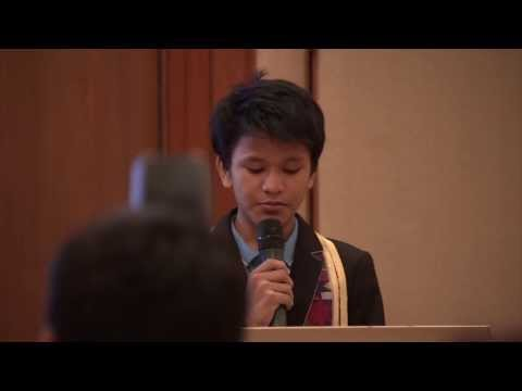 Children's Peace Prize Winner Kesz Valdez Speaks on Youth and Service (Dec. 7)