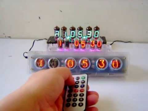 NIXIE CLOCK --Design by CHJ