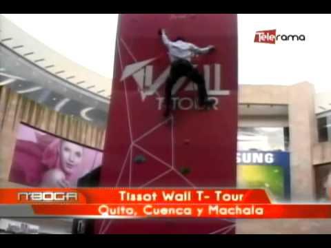 Tissat Wall T Tour Quito, Cuenca y Machala