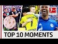 Top 10 Best Moments - April 2018 – Sancho Mania, Robben's Fail, Cheekiest Goal of the Season