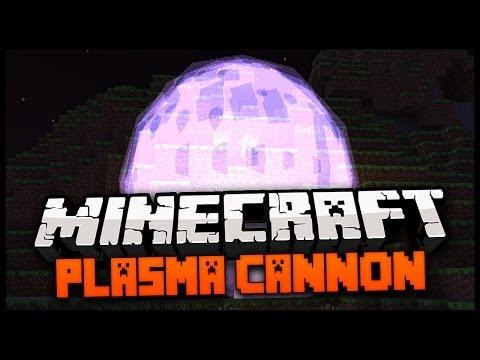Minecraft Mod Spotlight: PLASMA CANNON MOD 1.7.4 - AMAZING MINECRAFT SUPER WEAPON!