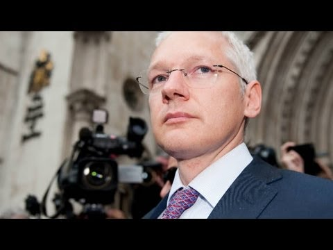 2010: Wikileaks' Julian Assange storms out of interview