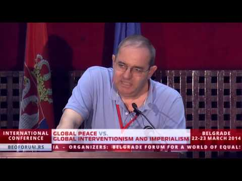 PROF. JEAN BRICMONT (BELGIUM) - part2 - (Global Peace vs. Global Interventionism and Imperialism)