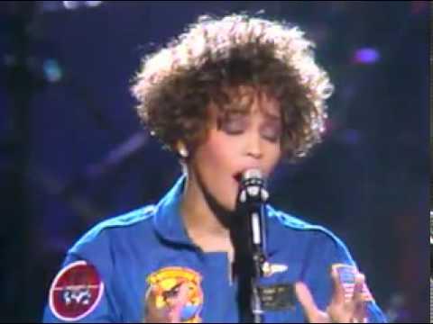 Whitney Houston Sings National Anthem