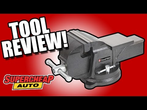 ToolPRO Bench Vice REVIEW