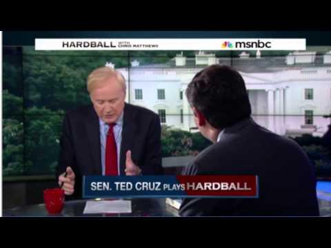 Ted Cruz interviewed by MSNBC's Chris Matthews on Hardball 7-8-2015
