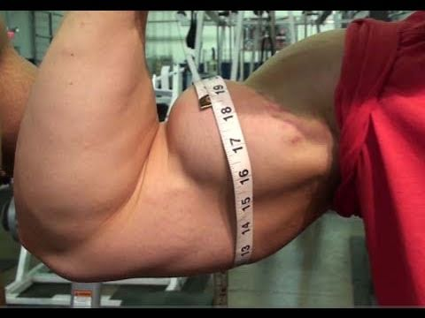 HD Muscle - Teen bodybuilder Cody Montgomery 18 inch biceps