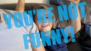 LOL Evancredible is brutally honest with me. Dad Jokes Postmortem. Micro VLOG