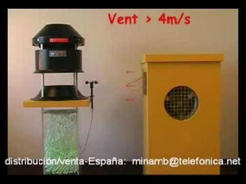 Extractores eolicos madrid
