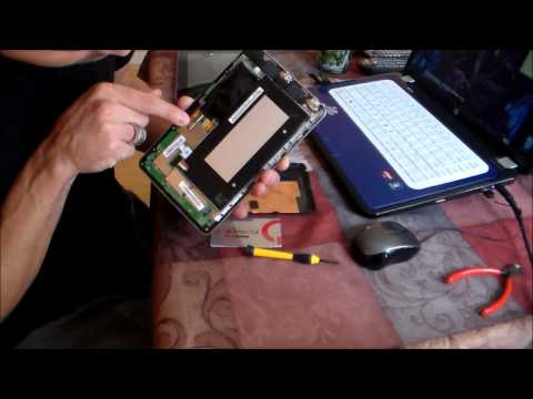 HOW TO Repair Asus NEXUS 7! BLANK SCREEN Service Video
