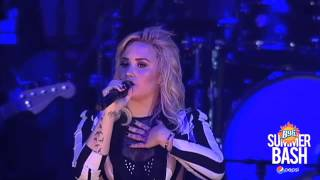 Demi Lovato Gives Heartfelt Speech About Her Treatment In Chicago At The B96 Summer Bash