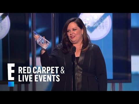 The People's Choice for Favorite Comedic Movie Actress is Melissa McCarthy