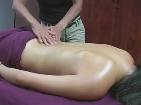 Back Massage Therapy How To For Stress & Relaxation