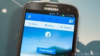How to install Facebook Home on your Android phone