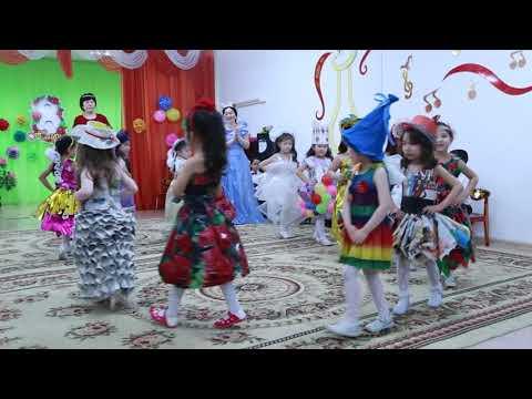 Оригинальный показ мод в детском садике  Арман г. Кокшетау