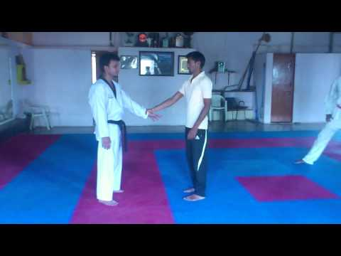 Hapkido training session Today dated 31/3/2013 Image 1